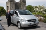 Car & driver at Bunratty Castle