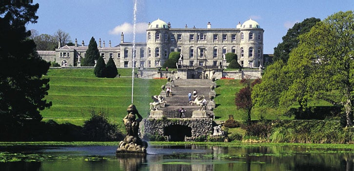 Powerscourt House & Gardens front
