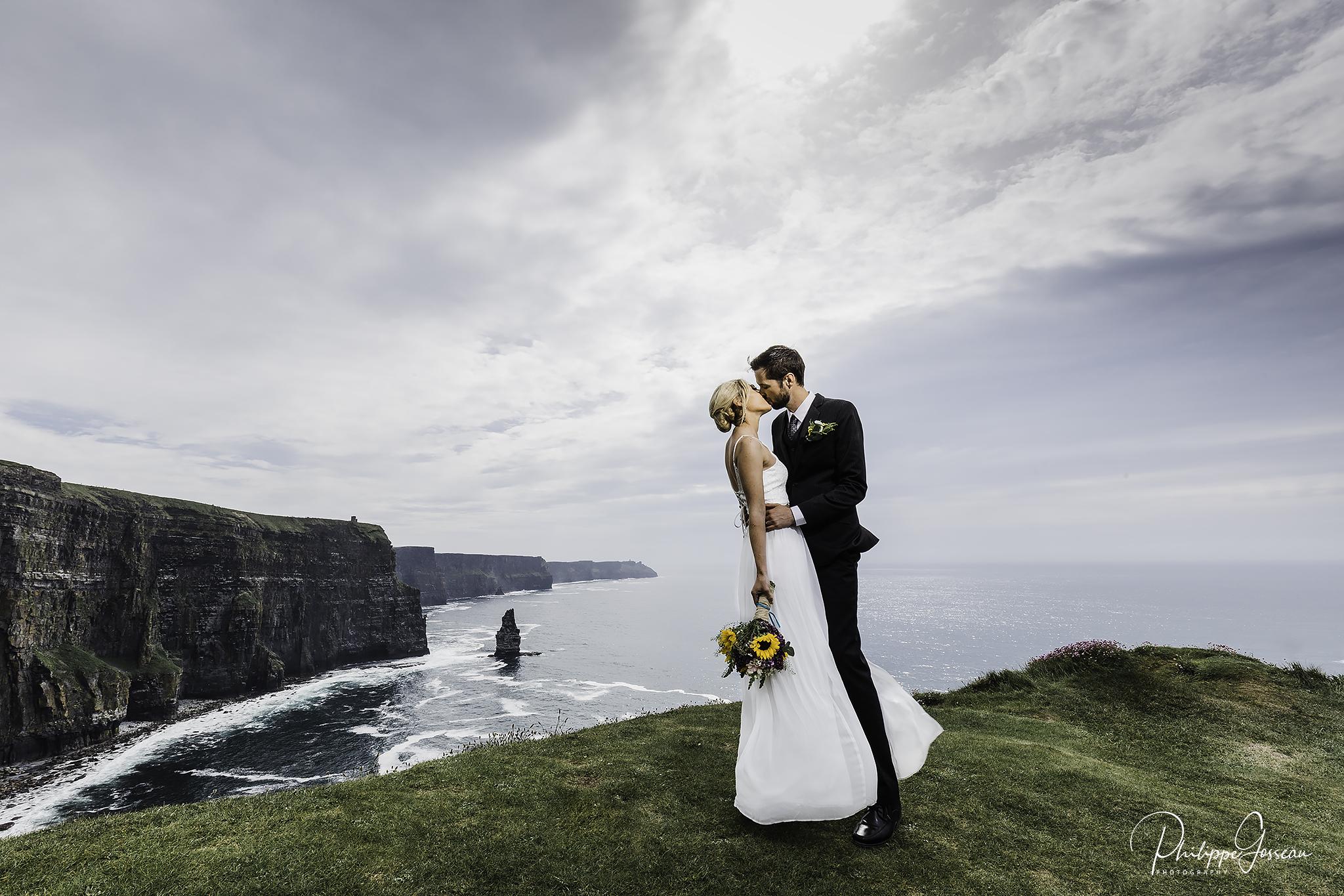 Elopement Wedding and Honeymoon in Ireland
